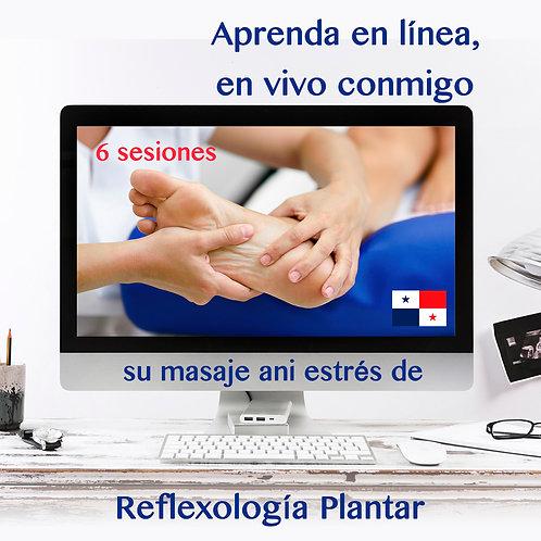 6 sesiones- Reflexología Plantar anti-estrès