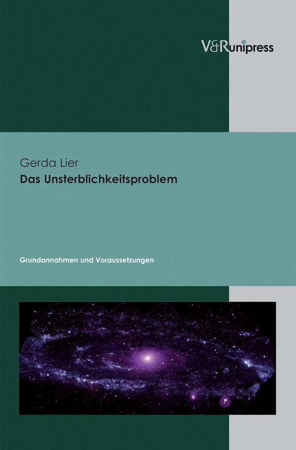 Buchcover Unsterblichkeitsproblem Gerda Lier