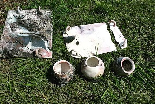 Pit Firing Ceramics