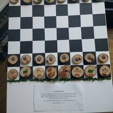 Chess board for the 'Save Ryebank Fields