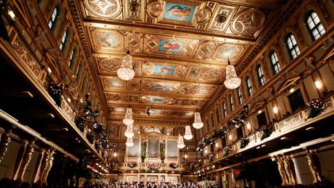 Golden Hall, Musikverin (Vienna, Austria)