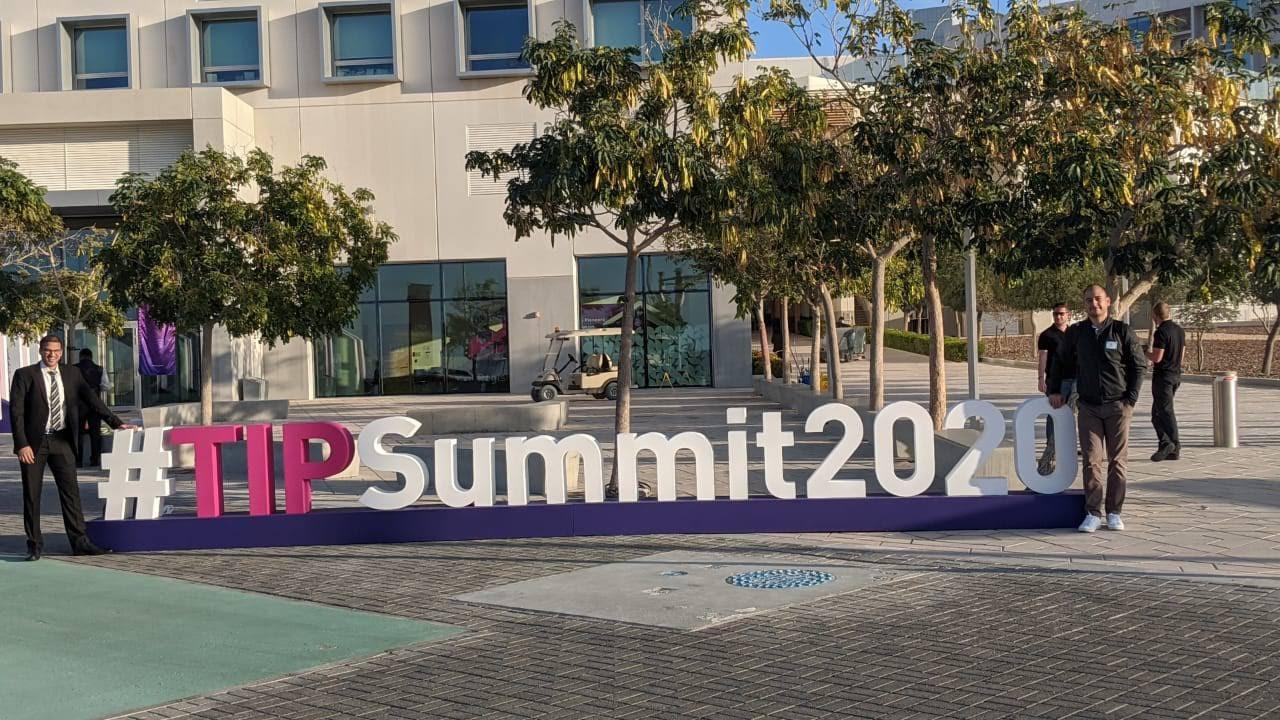 TIP Summit 2020 hashtag