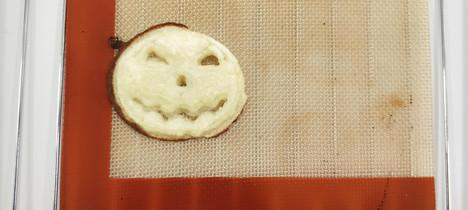 potato halloween pumpkin