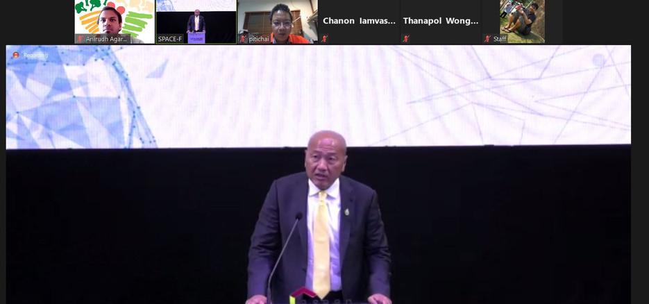 President of Thai Union Speaking