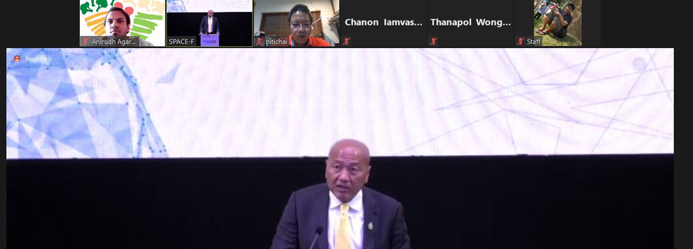 President of Thai Union Speaking