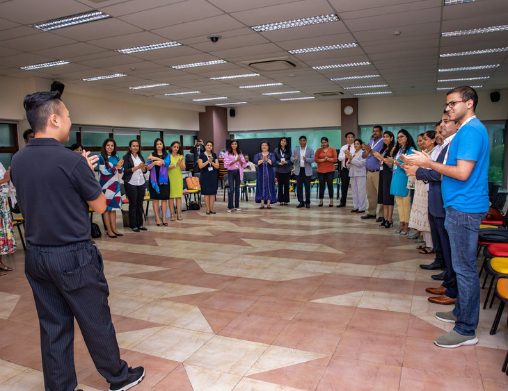 Group activity on team building