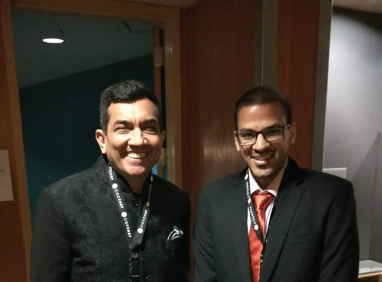 Meeting Sanjeev Kapoor