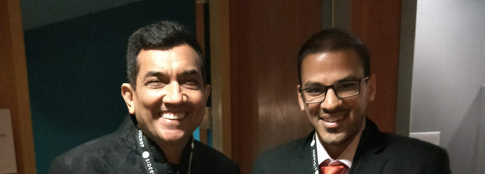 Meeting Sanjeev Kapoor