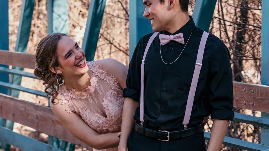 Olivia & Joseph // Cherry Blossom Prom