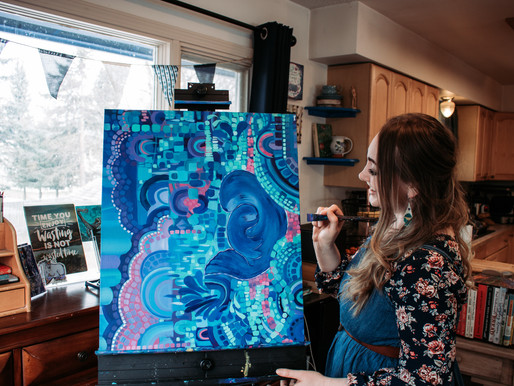 Chantelle Marie // Beautiful Soul, Vibrant Art