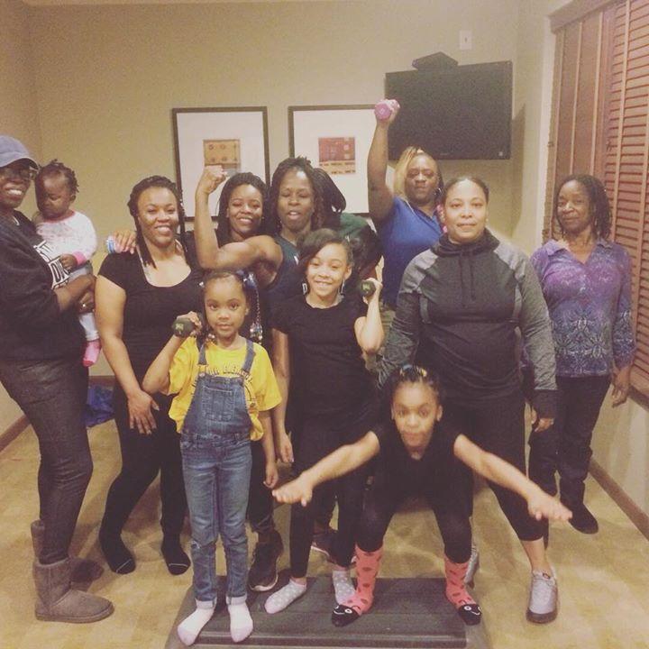 #HealthyMoms #HealthyKids #GroupFitnessC