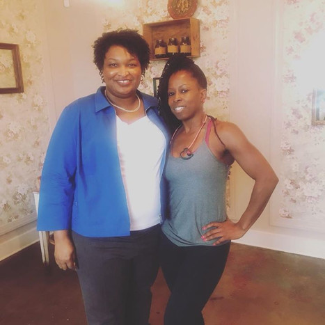 I STAND WITH HER 💕 Stacey Abrams For Go