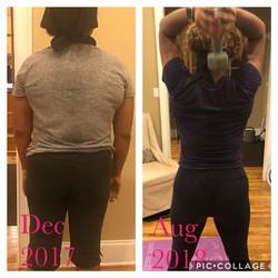 Meet my client Alea, she lost 25 pounds!