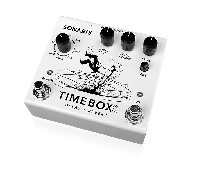 Pedal de guitarra Timebox