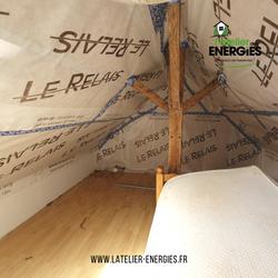 Isolation des rampants  - L'Atelier des Energies