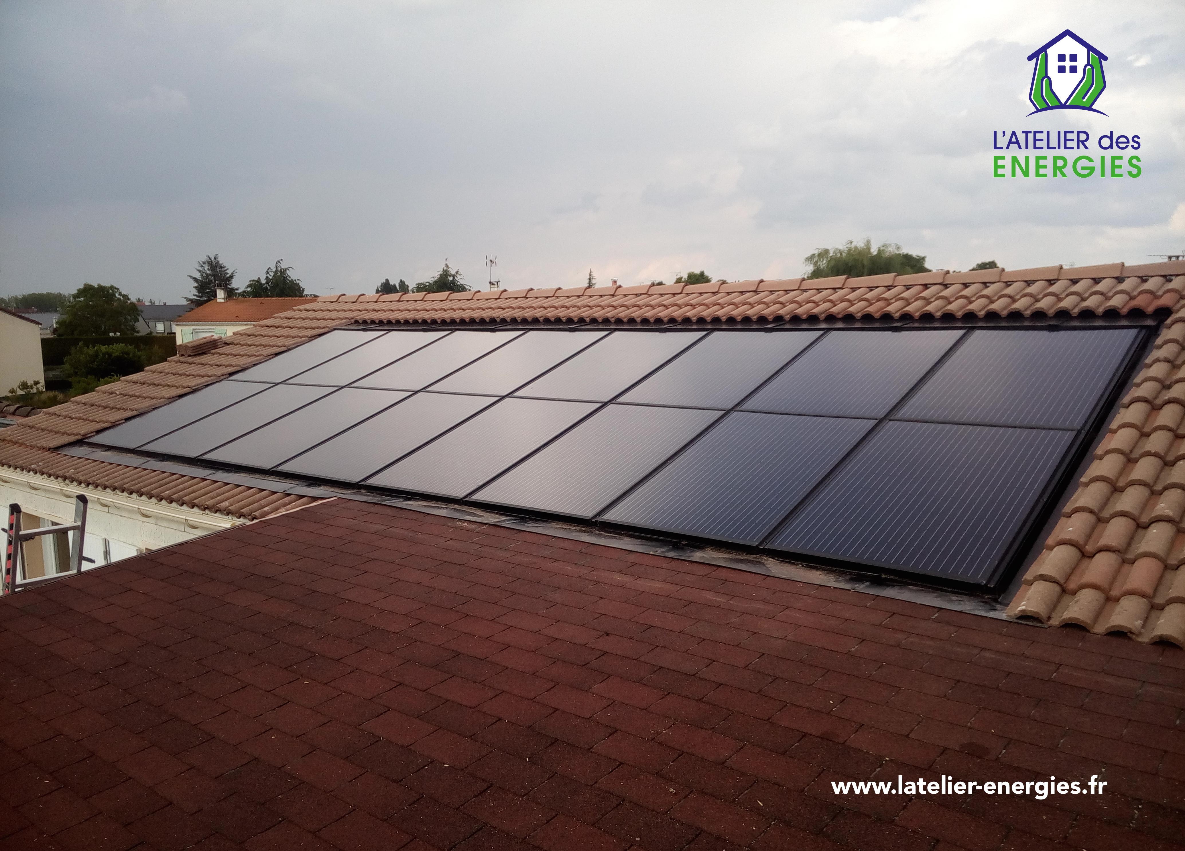 Panneaux solaires aérovoltaïques