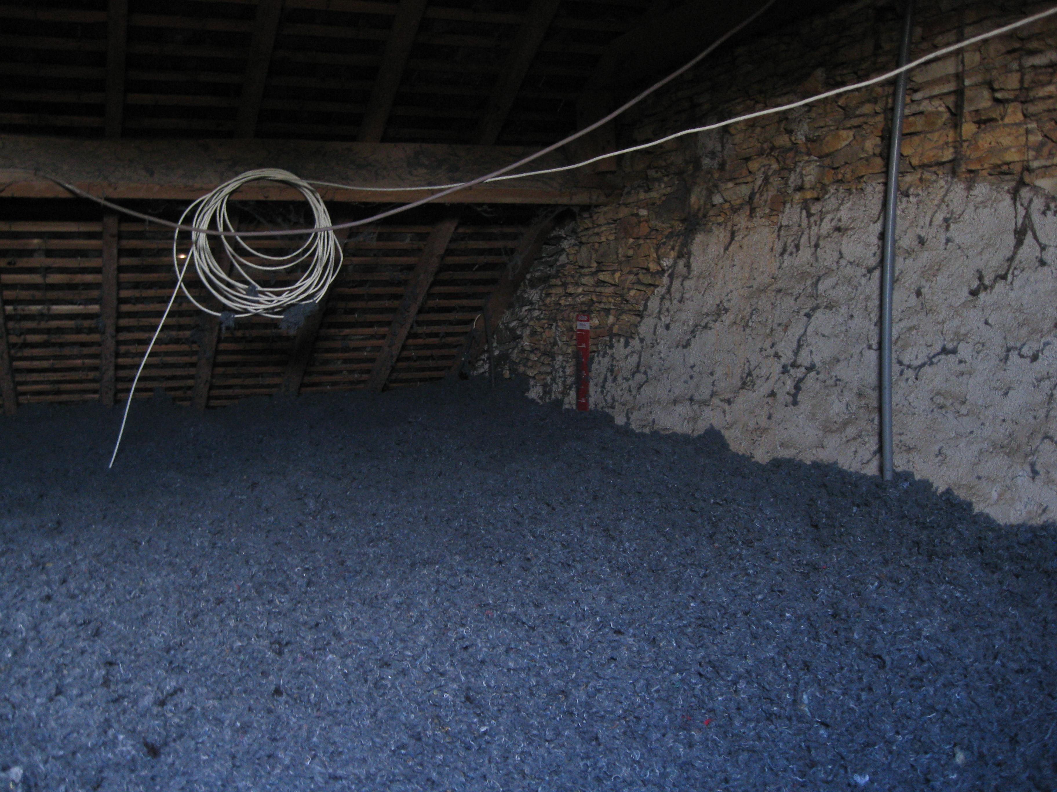 Isolation écologique coton recyclé