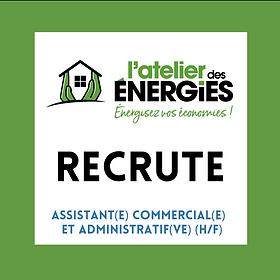 L'ATELIER DES ENERGIES RECRUTE - Assitan