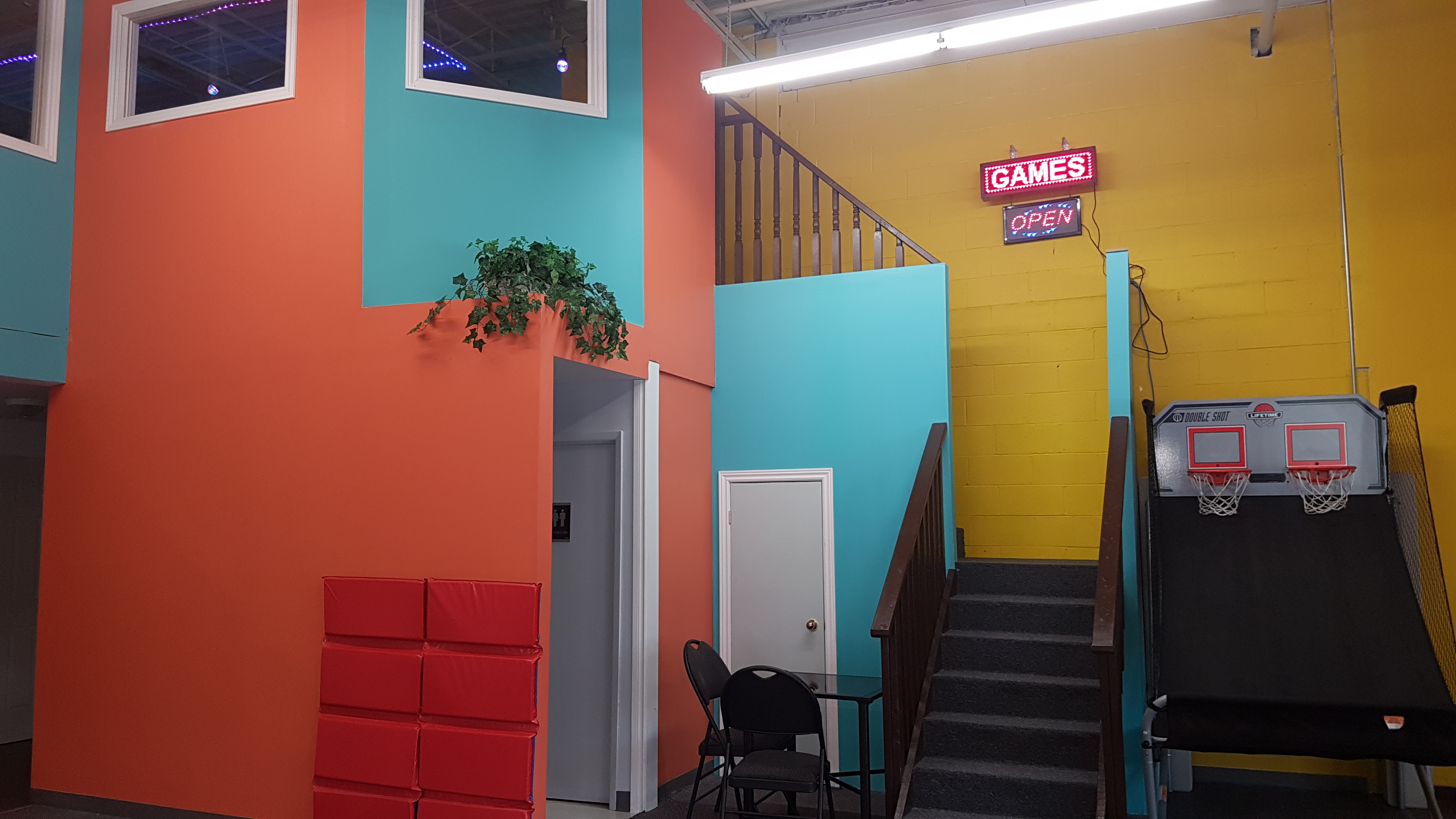 Game Room Now Open