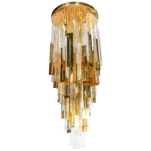 Murano chandelier mid century NY