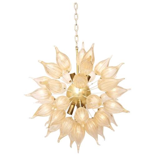gold sputnik chandelier. Murano Clear/gold Glass \ Gold Sputnik Chandelier 1