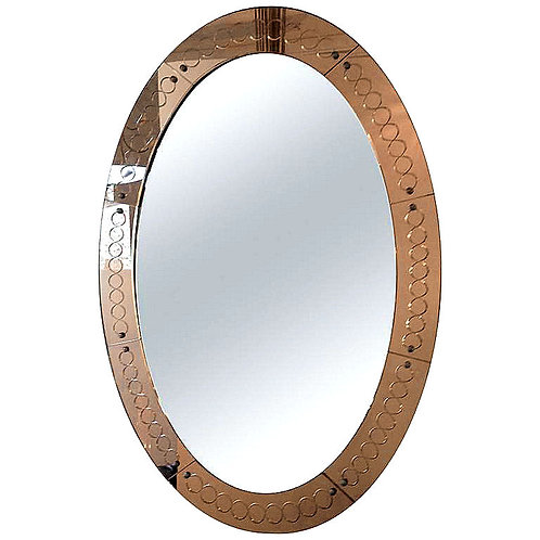 Italian vintage mirror houston