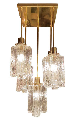Square_Kalmar_brass_Murano_glass_chandelier
