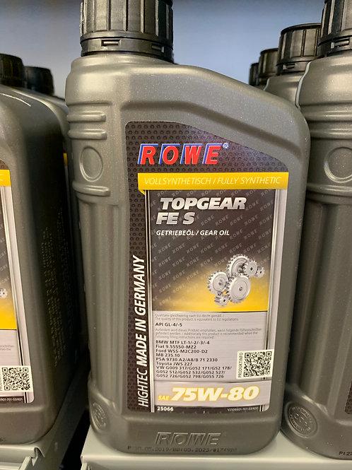 1 Liter Rowe Hightec Topgear FE SAE 75W-80 S