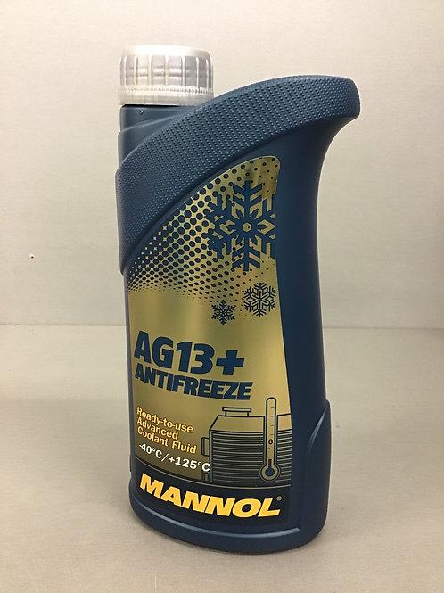 Mannol Antifreeze Kühlmittel Kühlerfrostschutz AG13+/ -40°C +125 °C