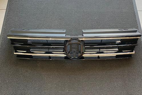 Kühlergrill 5NA853653A Chrom-Rippen ohne Emblem VW Tiguan II AD Original
