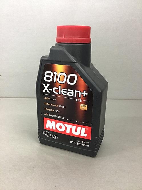 Original Motul 8100 X-Clean+ 5W-30 1L