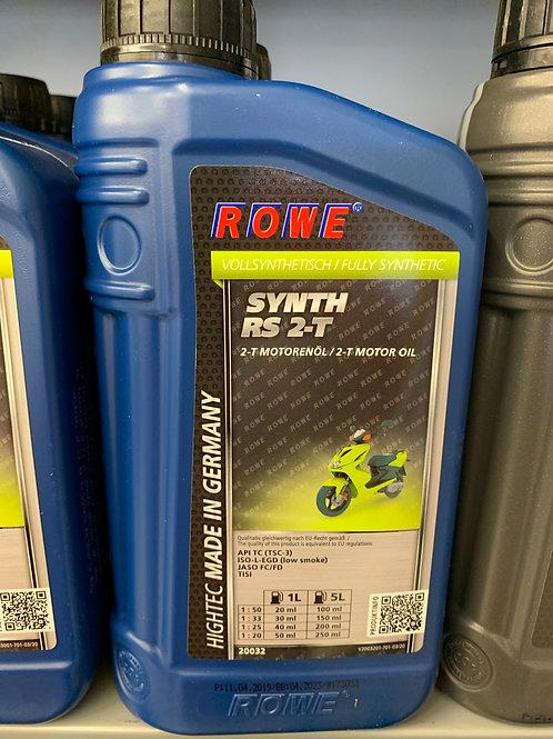 1 LITER ROWE ROLLER MOTORÖL HIGHTEC SYNTH RS 2-T VOLLSYNTHETISCH 2-Takt-ÖL NEU