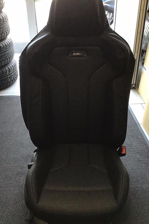 Bmw m4 F82 Beifahrersitz Carbonoptik Rechts mit Schiene und Electronic