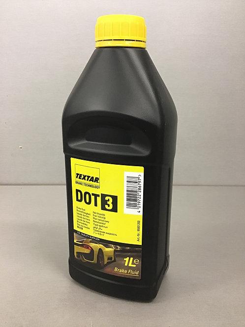 TEXTAR 95001200 Bremsflüssigkeit DOT3 1 Liter
