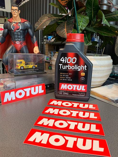 MOTUL Motoröl 4100 Turbolight SAE10 W 40