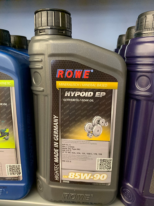 1 Liter ROWE HIGHTEC HYPOID EP SAE 85W-90 25005