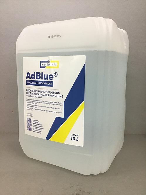Cartechnic Ad Blue 10 Liter inklusive Füllschlauch