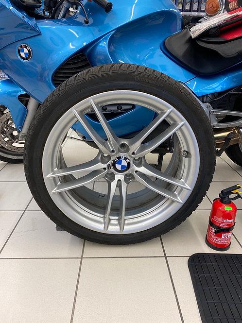 4x Original BMW M2 Kompletträder Winterreifen 641M 2284908