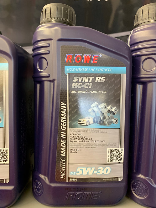 1 Liter ROWE MOTORÖL HIGHTEC SYNT RS SAE 5W-30 HC-C1 FORD MAZDA LAND ROVER