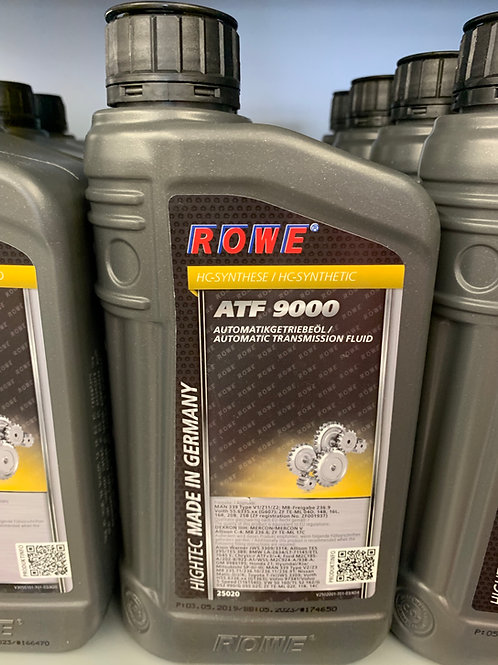 1 L LITER ROWE HIGHTEC ATF 9000 AUTOMATIK-GETRIEBEÖL DEXRON IIIH MAN339 MB236.9