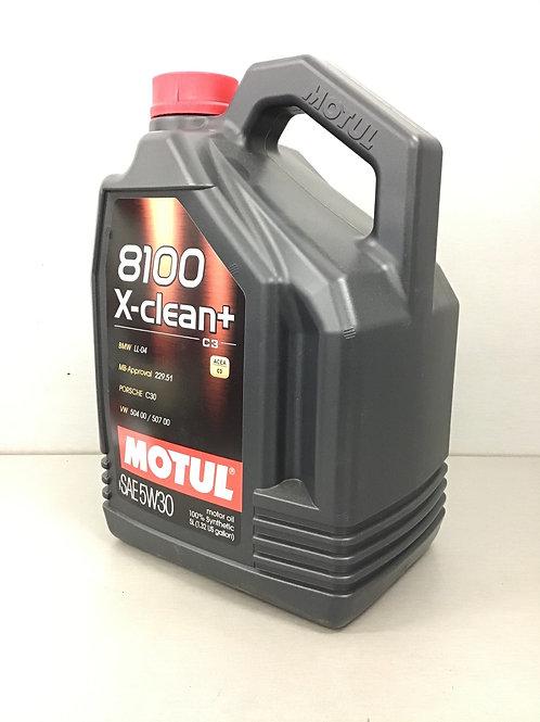 5L Motul 109220 8100 X-clean+ 5W-30