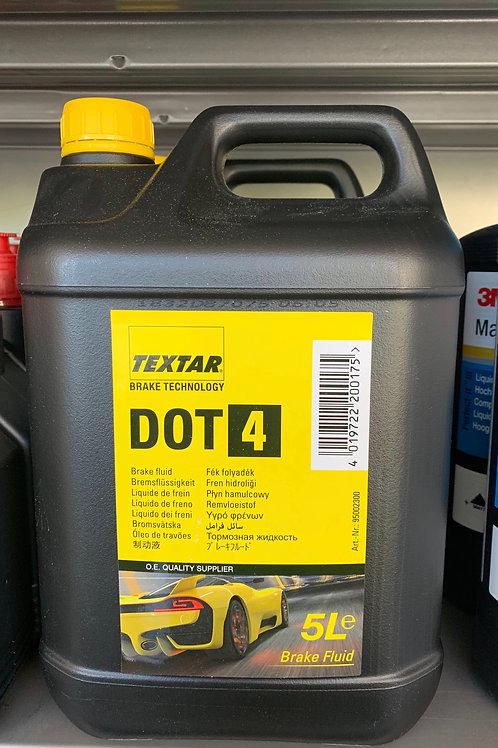 TEXTAR Bremsflüssigkeit DOT4 -5L