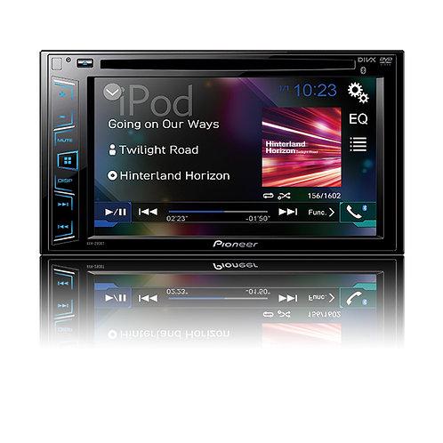 PIONIEER AVH-290BT / DVD / CD/MP3/WMA/WAW/-Tuner 6,2 Touchdisplay