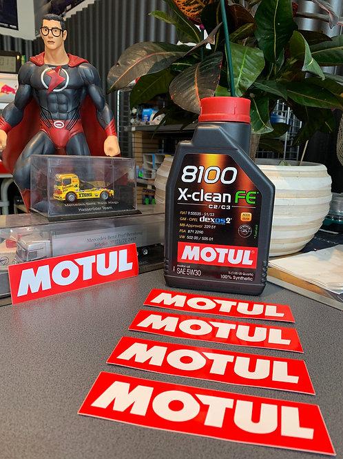 MOTUL Motoröl 8100 X-Clean FE 5W30