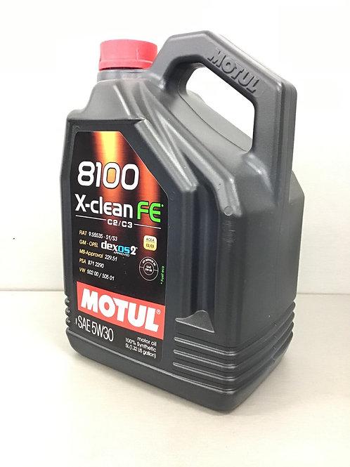 5L MOTUL Motoröl 5W30 8100 X-CLEAN FE