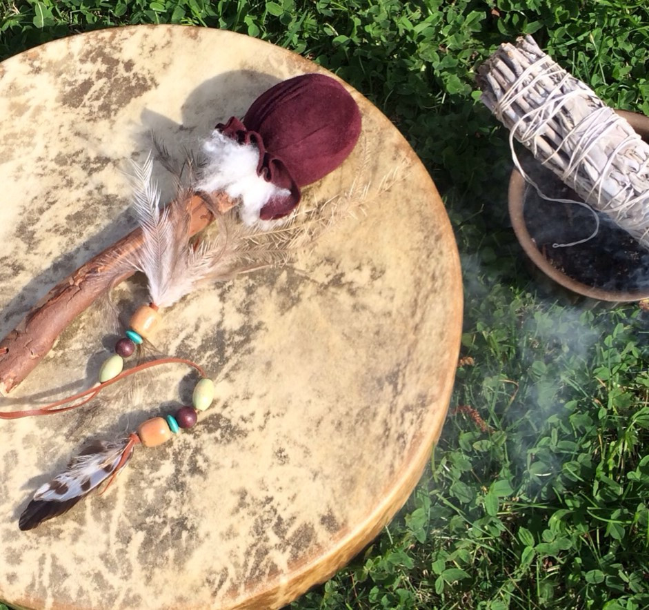 Cleansing Ritual Space with Sage and Drum - Lauralee - Thomson - Women - Rituals - Melbourne