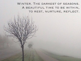 Winter, going within