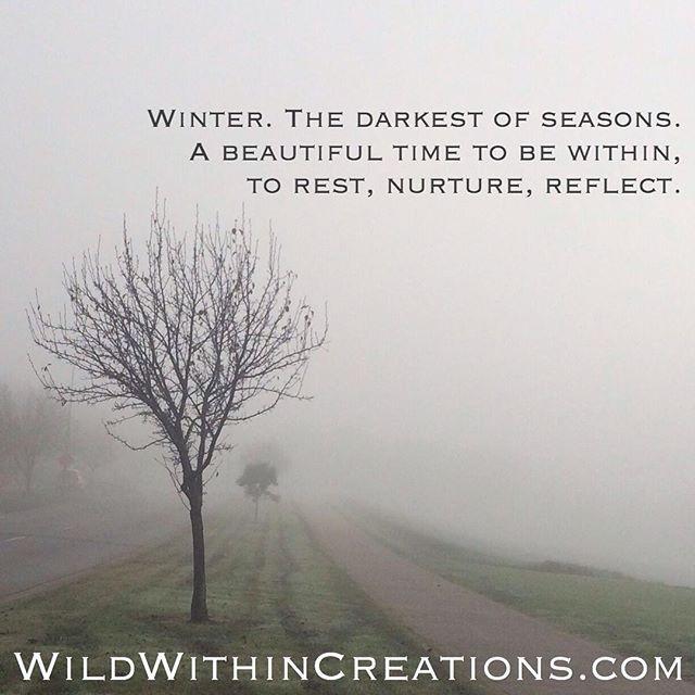 Winter - Going Within - Rest - Nurture - Reflect - Lauralee - Thomson - Women - Rituals - Melbourne