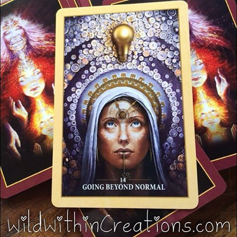 Lauralee - Thomson - Women - Rituals - Melbourne - What is normal - Going beyond normal - Alana Fairchild's Sacred Rebel Oracle Cards