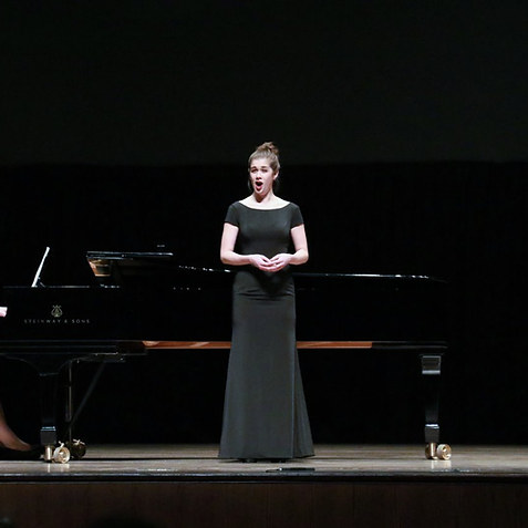 1st Place, National MTNA Young Artist Voice Competition First Interstate Center for the Arts, Spokane, WA Elena Panchenko, pianist  2019
